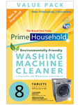 PrimeHousehold™ Eco-Friendly Washing Machine Cleaner Tablets