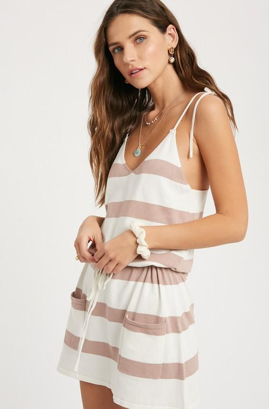 McKenna Striped Sweater Dress