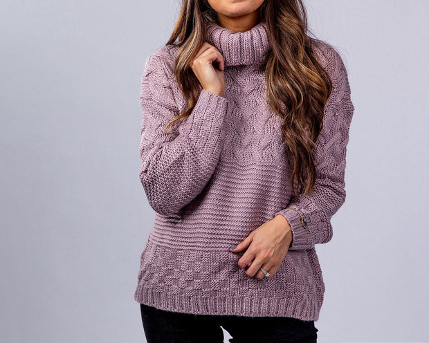 SIMPLY DARLINGS X LINC BOUTIQUE Lavender Goodness Sweater
