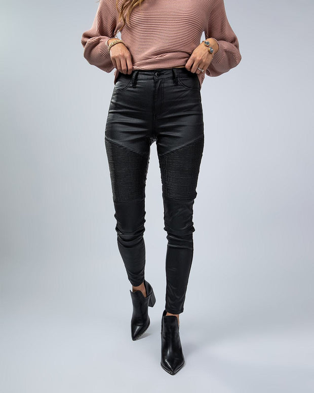 SIMPLY DARLINGS X LINC BOUTIQUE Mountain Moto Jeans
