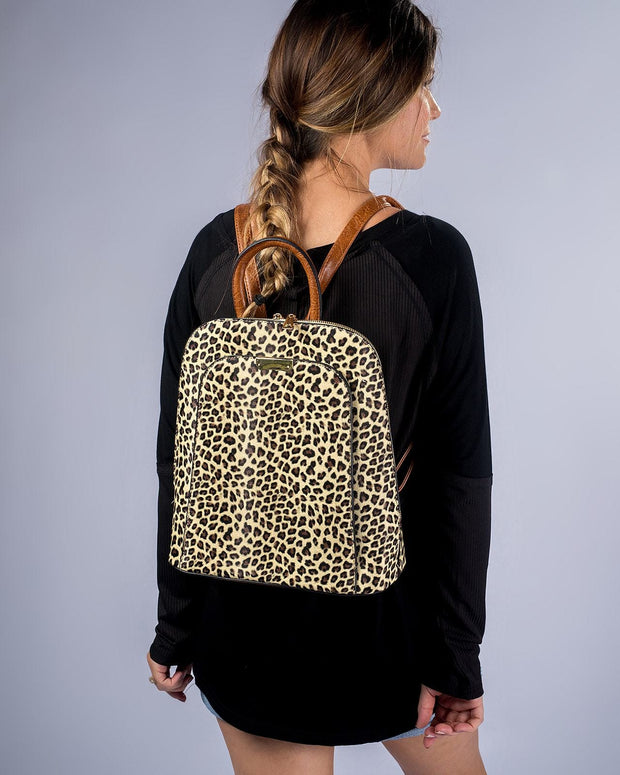 Cheetah On Backpack