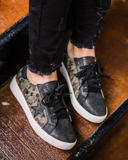 Going Places Camo Sneakers