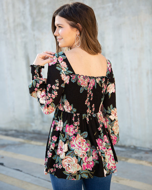 Breezy Blooms Top