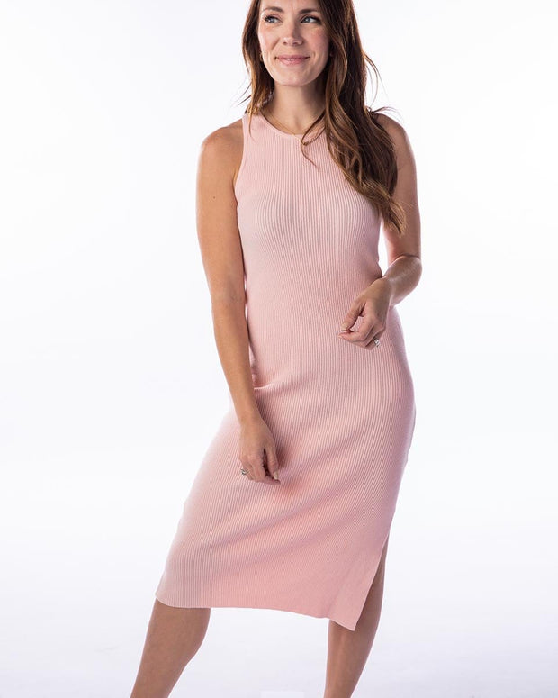 Aria Fitted Knit Dress