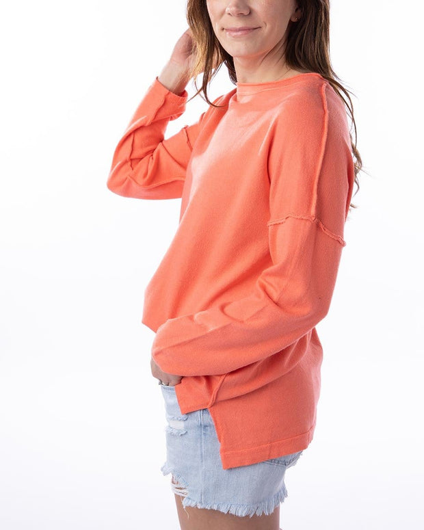 Cool Mornings Oversized Sweater