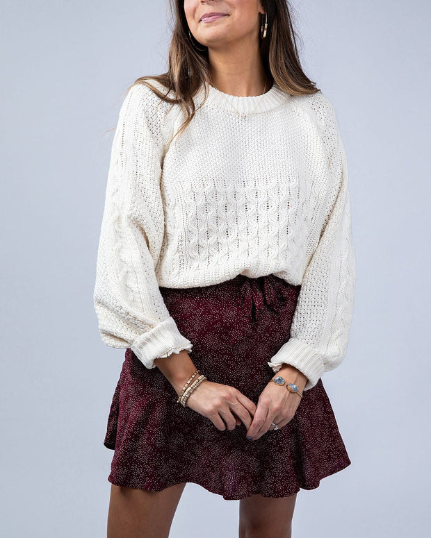 SIMPLY DARLINGS X LINC BOUTIQUE Autumn Dreams Sweater