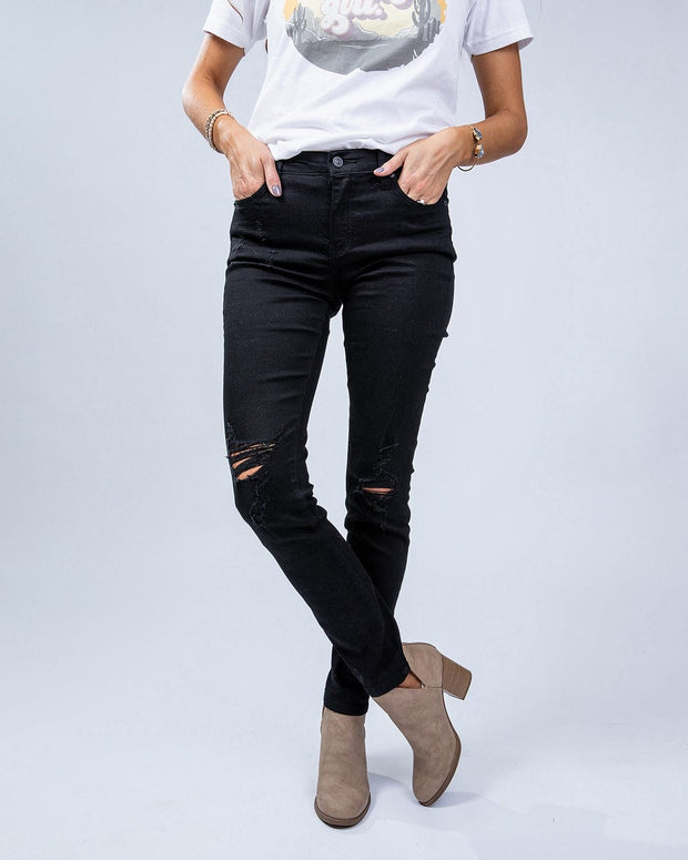 SIMPLY DARLINGS X LINC BOUTIQUE Night Out Jeans