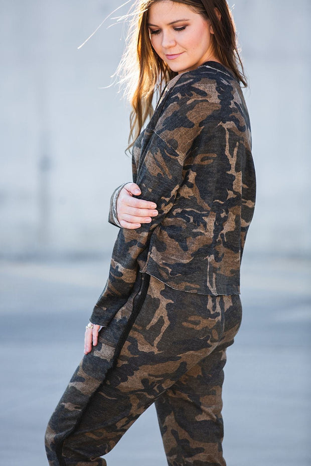 In Plain Sight Camo Top