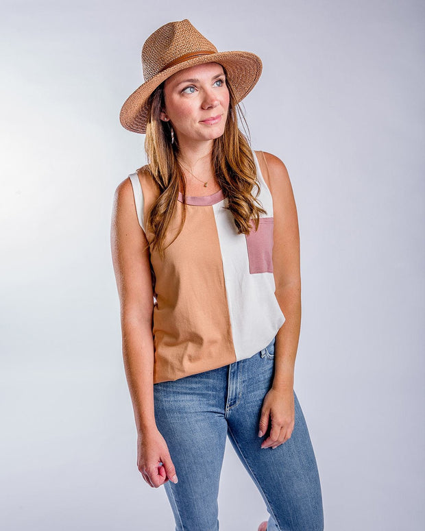 Summer Loving Colorblock Tank