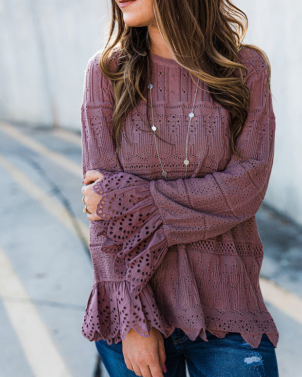 Sugarplum Knitted Sweater