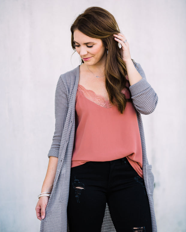 Cozy Goals Cardigan
