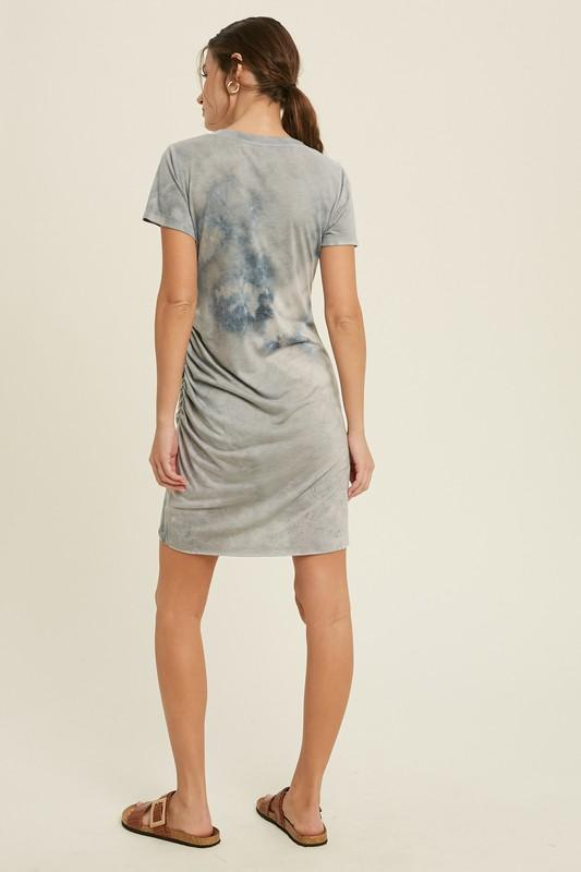 In the Clouds Mini Dress