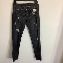 Load image into Gallery viewer, Genetic Denim Skinny Black Jeans Size 26