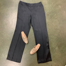 Load image into Gallery viewer, Akris Silk Gray Pants Size 16 NWT