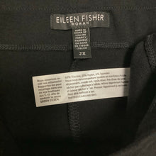Load image into Gallery viewer, Eileen Fisher Black Skirt Size 2X
