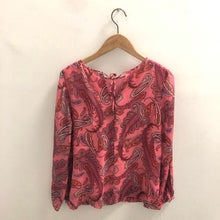 Load image into Gallery viewer, J Crew Red Blouse Size 2