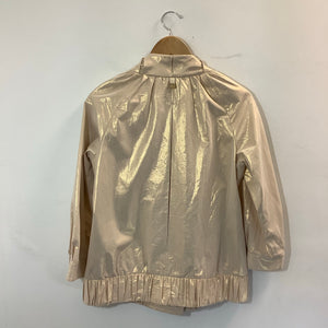 Badgley Mischka Tan Jacket Size Small