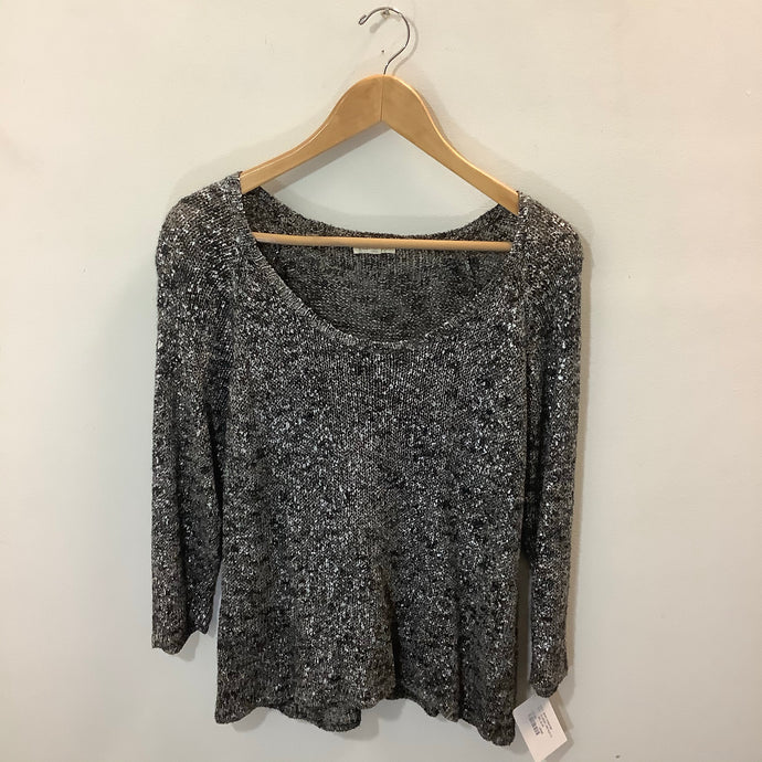 Eileen Fisher Metallic Sweater Size Large