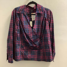 Load image into Gallery viewer, Talbots Navy Blouse Size 20 NWT