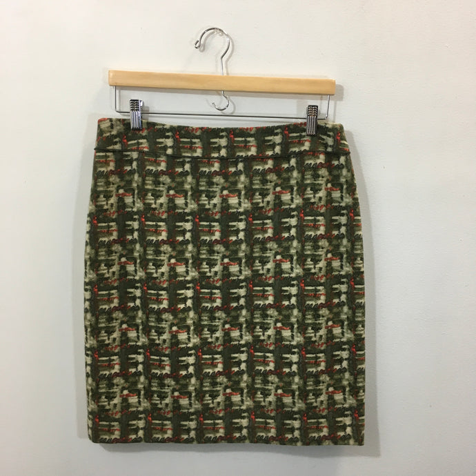WORTH Green Skirt Size 8