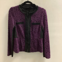 Load image into Gallery viewer, Nanette Lepore Purple Jacket Size 8