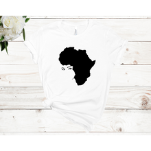 Load image into Gallery viewer, Afro Lady Unisex Short Sleeve T-shirt (4 Colors)