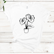 Alocasia Short Sleeve Unisex T-shirt (Available in 4 Colors)