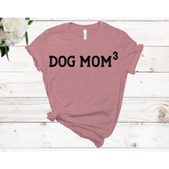 Dog Mom3 Unisex Short Sleeve T-shirt (4 Colors)