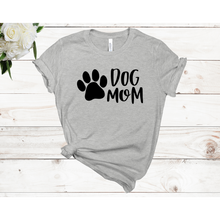 Load image into Gallery viewer, Dog Mom Unisex Short Sleeve T-shirt (4 Colors)