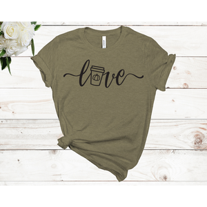 Love Unisex Short Sleeve T-shirt (Available in 3 colors)