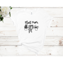 Load image into Gallery viewer, Plant Mom 3 Plants Unisex Short Sleeve T-shirt (3 Colors)