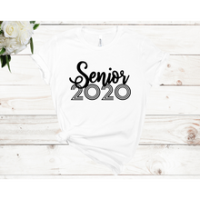 Load image into Gallery viewer, Senior 2020 Unisex Short Sleeve T-shirt