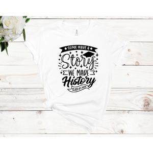 Some Have a Story Unisex Short Sleeve T-shirt