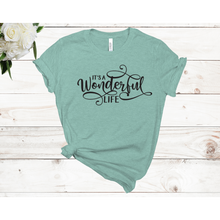 Load image into Gallery viewer, It's A Wonderful Life Unisex Short Sleeve T-shirt (4 colors)