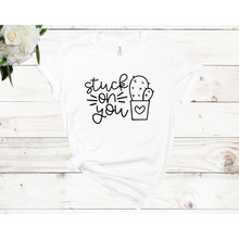 Load image into Gallery viewer, Stuck on You Short Sleeve Unisex T-shirt (Available in 4 colors)