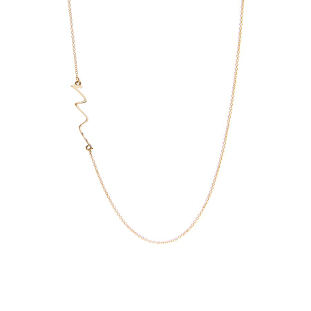 M is for Minimalist Necklace