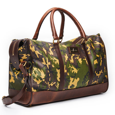International Appeal Leather Duffle