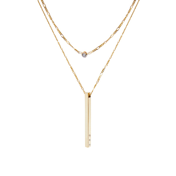 One Plus One Necklace