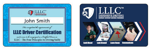 LLLC Certified Driver Card