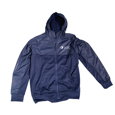 LLLC Full Zip Jacket in True Navy