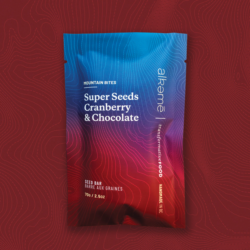 Mountain Bites: Super Seeds, Cranberry & Chocolate - Box of 12