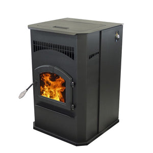 Pleasant Hearth - Cabinet Pellet Stove