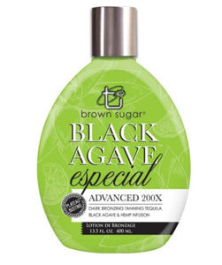 BLACK AGAVE ESPECIAL 400ML - 200X BRONZERS