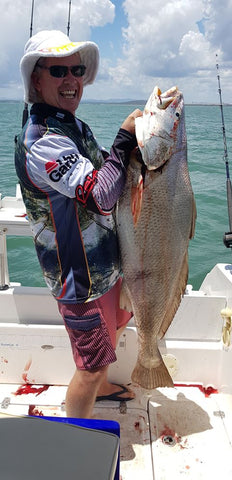 Mulloway on Flasher Rigs