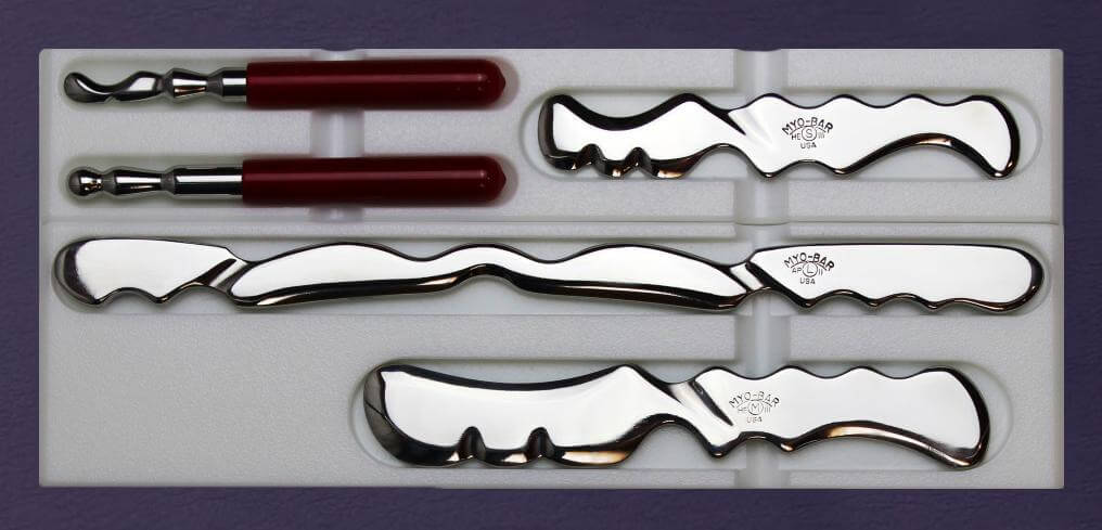 Complete Clinic Set - Healing Edge Series - IASTM Tools - Graston Alternative