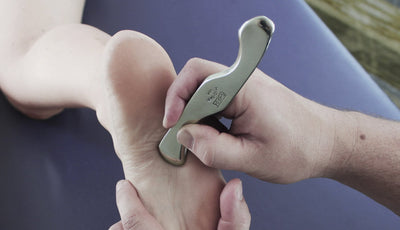 Myobar Graston Tools Alternative G-Plus Series 2-3-6 Tool Foot Flexor Digitorum Muscles