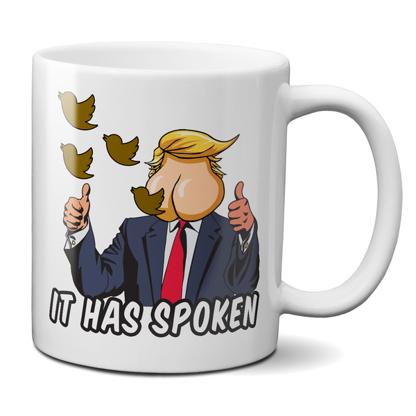 the ass has spoken ant-trump mug funny dump trump mug