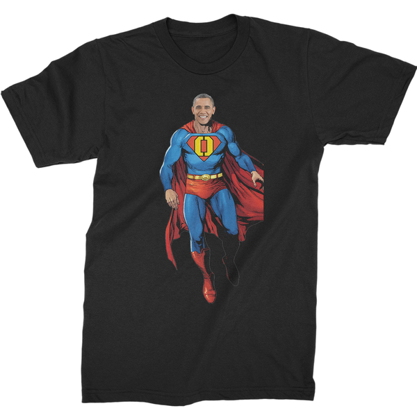 barack obama superman shirt