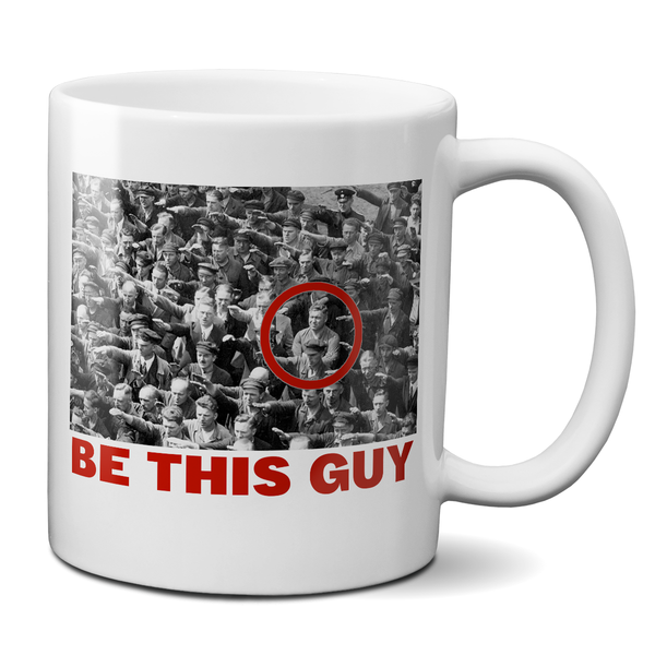 be this guy august landmesser mug