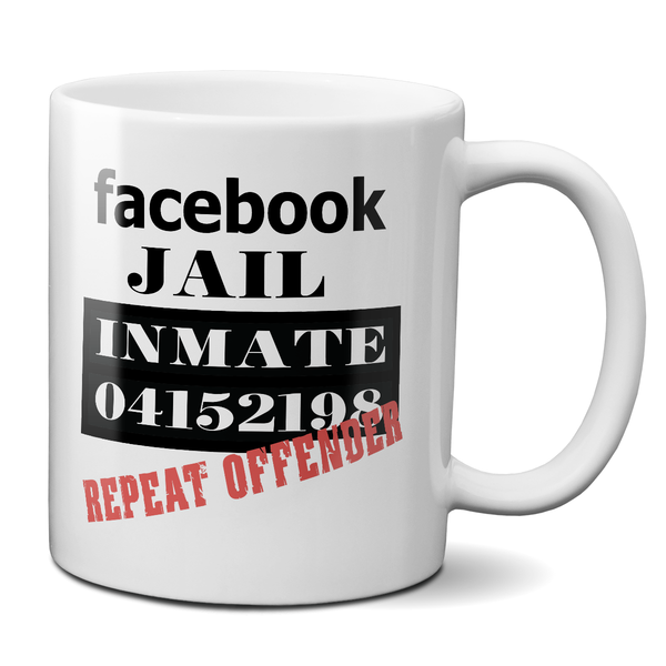 Facebook Jail Repeat Offender T-Shirt